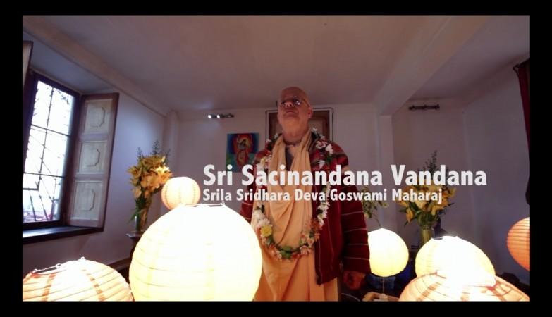 Canción: Sri Sacinandana Vandana